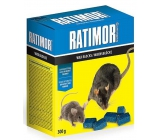 Ratimor paraffin blocks poison for exterminating rodents with high resistance to moisture 300 g