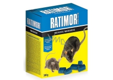 Ratimor Paraffin blocks for rodent control 300 g waterproof rodent poison