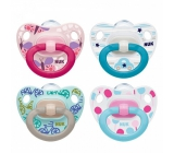 Nuk Classic Happy Days silicone comforter 18-36 months