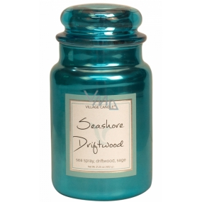 Village Candle Seashore Driftwood scented candle in glass 2 wicks 602 g