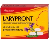 Favea Larypront with sage oil soluble in mouth to soothe the neck of 24 tablets
