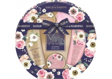 Baylis & Harding Royal Garden toilet soap 150 g + shower cream 130 ml + washing gel 130 ml + bath crystals 100 g + body lotion 100 ml, cosmetic set