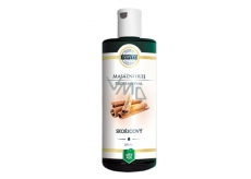 Topvet Professional Cinnamon massage oil, causes local warming of the skin, dilation of blood vessels, and thus the breakdown of fats in the skin 200 ml