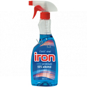 Iron Active Premium glass cleaner with 50% alcohol sprayer 500 ml