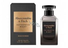 Abercrombie & Fitch Authentic Night Man Eau de Toilette for Men 100 ml