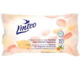 Linteo Herbal wet wipes for intimate hygiene 10 pieces