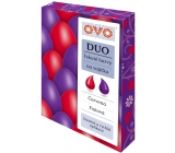 Ovo Liquid colors duo Red / Purple 2 colors each 20 ml: 1 bag (20 ml)