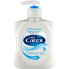Carex Moisture Plus antibacterial liquid soap with milk proteins 250 ml