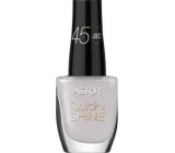 Astor Quick & Shine Nail Polish lak na nehty 610 Mist On My Face 8 ml