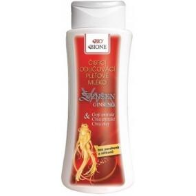 Bione Cosmetics Ženšen odličovací pleťové mléko 255 ml