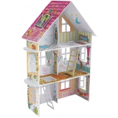 Monumi House XXL ul. Wiosenna 14 jigsaw puzzle for children 5+ height 50 x 68 x 21,5 cm