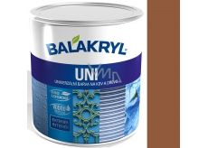 Balakryl Uni Mat 0225 Light brown universal paint for metal and wood 0.7 kg