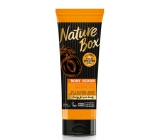 Nature Box Apricot Vitamin antioxidant body peeling with 100% cold pressed oil, suitable for vegans 200 ml