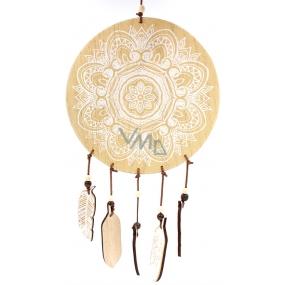 Nekupto Home Decor Wooden decoration dream catcher 20 cm
