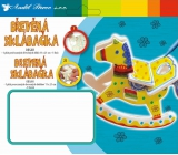 Wooden jigsaw puzzle 18x15,5cm