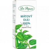Dr. Popov Mint oil 100% natural oil for external and internal use food supplement 10 ml