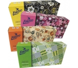 Linteo Satin paper handkerchiefs 2 ply 100 pieces box