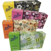 Linteo Satin tissue tissues two-layer box of 100 pieces