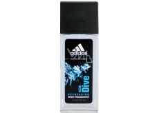 Adidas Ice Dive perfumed deodorant glass for men 75 ml