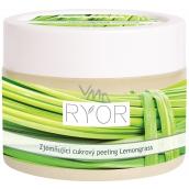 Ryor Lemongrass zjemňující cukrový tělový peeling 325 g