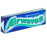 Wrigleys Airwaves Menthol & Eucalyptus gum dragees 10 pieces, 14 g