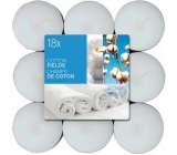 Bolsius Aromatic Cotton Fields - Cotton Plantations Scented Tea Candles 18 pieces, burning time 4 hours