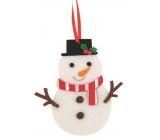 Finger Decorated Color 10cm Snowman 5876 4571
