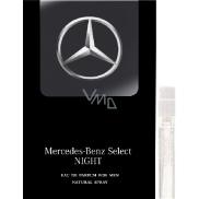 Mercedes-Benz Mercedes-Benz Select Night EdT 1 ml men's eau de toilette spray, Vialka