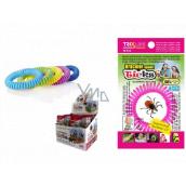 Trixline Repellent waterproof bracelet - rubber band against ticks with citriodiol 1 piece, TR 352 random color selection