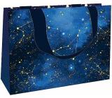 Nekupto Gift paper bag medium 23 x 17.5 x 10 cm Night sky 1866 LFM