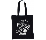 Nekupto Do not plasticize Shopping bag cotton, Nothing is impossible 38 x 40 x 10 cm