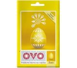 Ovo Yellow powder paint 1 sachet (5 g) = 10 - 15 eggs