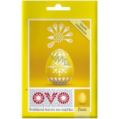 Ovo Yellow powder paint 1 sachet (5 g) = 10 - 15 eggs