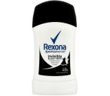 Rexona Motionsense Invisible Black + White antiperspirant deodorant stick pro ženy 50 ml