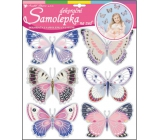 Room Decor Wall stickers hologram butterflies 30.5 x 30.5 cm