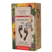 Bohemia Gifts & Cosmetics Herbal extract foot bath salt with deodorant effect and antibacterial ingredient 200 g