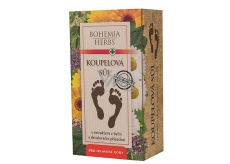 Bohemia Gifts & Cosmetics Herb Extract Bath Foot Salt with Deodorant Effect and Antibacterial 200 g