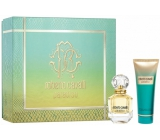Roberto Cavalli Paradiso perfumed water for women 50 ml + body lotion 75 ml, gift set