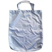 Shopping bag Pretty blue-gray with tubing 40 x 33,5 x 3 cm 9936