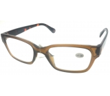 Berkeley Reading glasses +1.0 plastic brown, tiger side 1 piece ER4198
