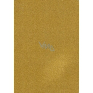 Glitter A4 Notebook - Gold Lines 003 7211