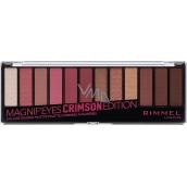 Rimmel London Magnifeyes Eyeshadow Palette 007 Crimson Edition 14.16 g