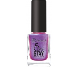 Dermacol 5 Day Stay Long-lasting nail polish 49 Unicorn 11 ml