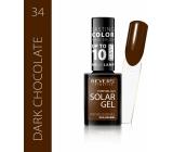 Revers Solar Gel gel nail polish 34 Dark Chocolate 12 ml