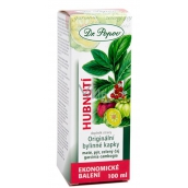 Dr. Popov Weight loss original herbal drops support water excretion, normal fat metabolism, reduction of appetite 100 ml