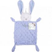 First Steps Sleepy with plush head Hare Minky blue 26 x 18 cm