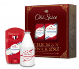 Old Spice White Water Vintage antiperspirant deodorant stick 50 ml + aftershave 100 ml, cosmetic cartridge for men