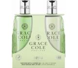 Grace Cole Grapefruit, Lime & Mint shower gel 300 ml + body lotion 300 ml, cosmetic set