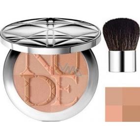 Christian Dior DiorSkin Nude Tan Couleur Eclat radiant powder shade 001 Aurora 10 g