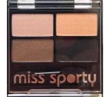 Miss Sporty Studio Colour Quattro Eye Shadow oční stíny 406 Sunny Smoky 3,2 g